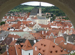 Český Krumlov, město v UNESCO