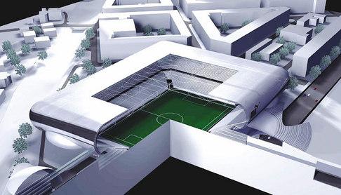 Národní fotbalový stadion na Letné