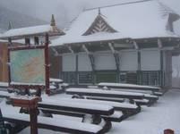 Sníh na Pustevnách