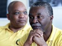 Thabo Mbeki a Jacob Zuma