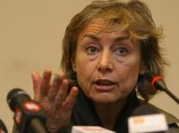 Unesená a zachráněná italská novinářka Sgrenová.
