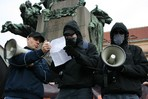 Neo-Nazis meet in Prague