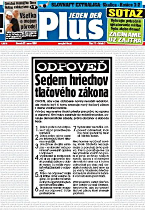 Slovenský protest deníků 3