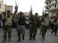 Irácká armáda slaví