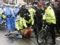 Protesty v Londýně proti olympiádě v Číně