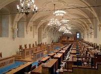 Jednací sál Senátu