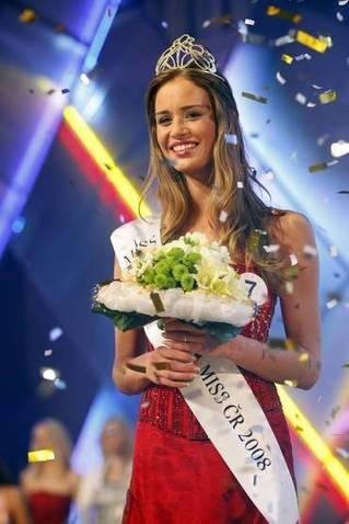 Miss České republiky 2008 Zuzana Jandová. Autor: Aleš Kartal ...