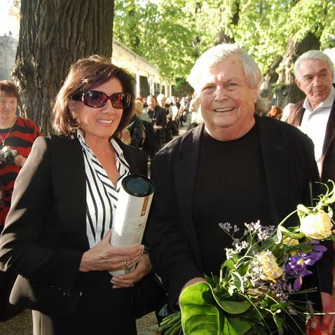 Marie Rotrová a Pavel Vrba