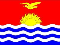 Kiribati vlajka