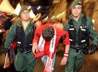 Podívejte se, jak slaví Rakousko remízu.