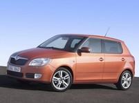 Nová Škoda Fabia - přední část