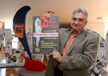 Milan Štěch, předseda ČMKOS