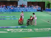 Paralympiáda - boccia