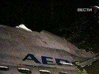 Rusko letadlo Aeroflot nehoda