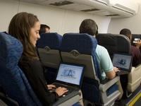 Internet na palubě letadla