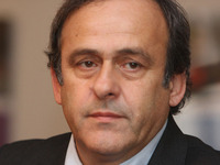 Michel Platini v Praze