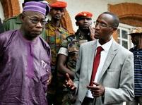 Olusegun Obasanjo a Laurent Nkunda