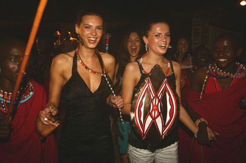 Česká Miss 2009 - Keňa