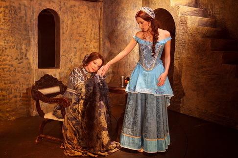 Focení kostýmů na muzikál Mona Lisa - Hana Zagorová, Dasha