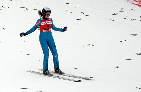 MS Liberec 2009 - trénink ženy skoky