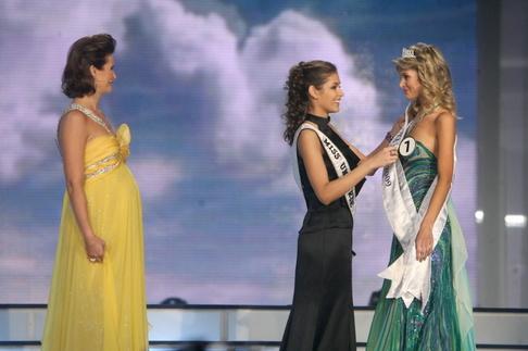 Finále České Miss 2009 - Michaela Maláčová, Dayana Mendozaová a Iveta Lutovská
