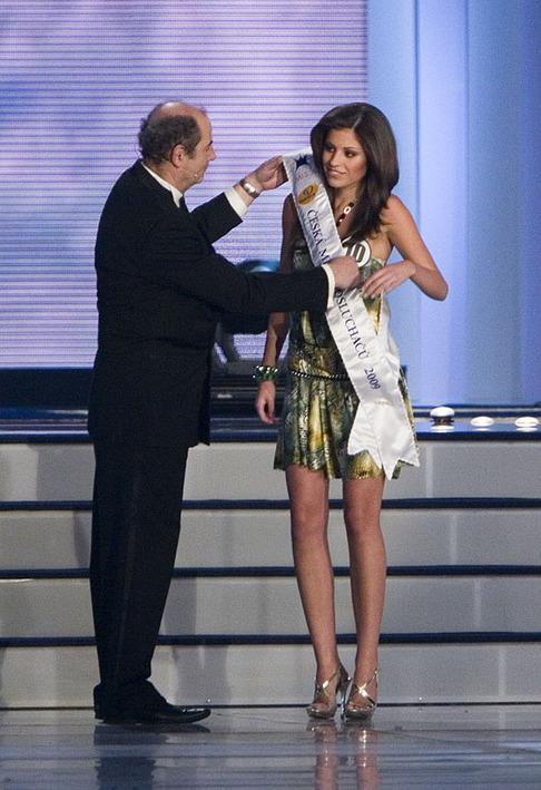 Finále České Miss 2009 -Tereza Budková