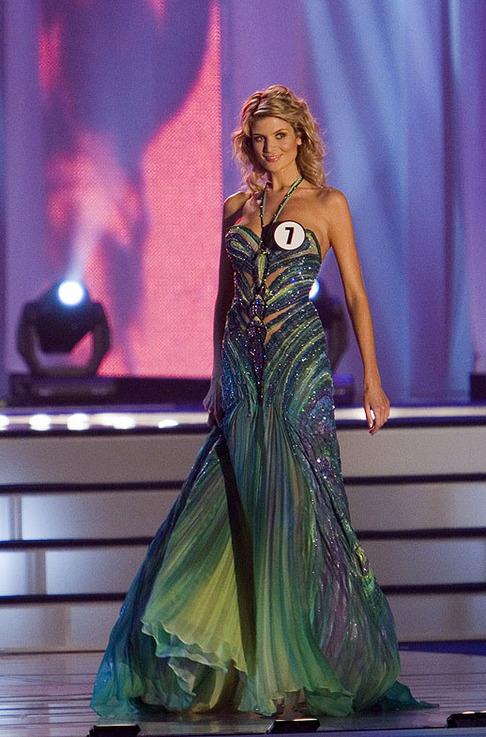 Finále České Miss 2009 - Iveta Lutovská