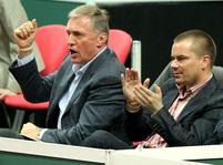 Davis Cup 2009: Mirek Topolánek a Marek Dalík