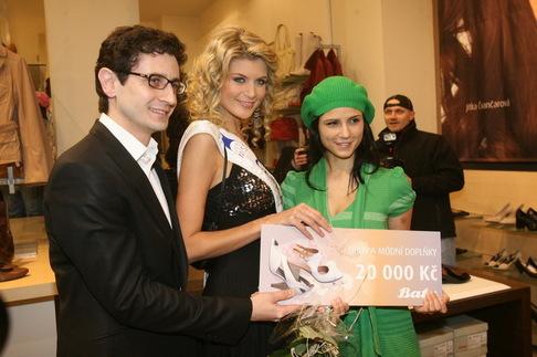 Česká Miss v Baťovi - Iveta Lutovská