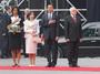 Obama v Praze - hymna na hradě
