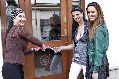 Otevření butiku Denny Rose v Plzni - Zuzana Jandová