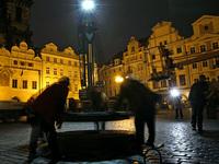 Praha se obléká do vánoční atmosféry