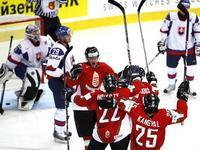 MS v hokeji: Slovensko - Maďarsko