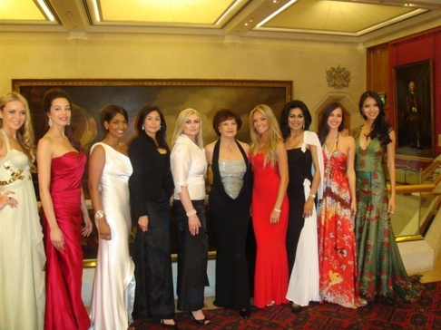 Taťána Kuchařová v Londýně - 10 nejúspěšnějších Miss World