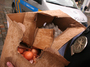 """<b>14. 5. - Na Paroubka přilétlo první vejce</b> - Předseda ČSSD Jiří Paroubek se stal terčem pro dva své odpůrce. Ti na něj během předvolebního mítinku v Kolíně začali házet vajíčka a rajčata. <br>""""Udělali jsme to, protože Paroubek lže a my už jsme se nemohli dívat na to, jak to lidi poslouchají a ještě si berou balónky,"""" řekl jeden z vrhačů Lukáš Botka.<br>""""Nejdřív přiletělo rajče, ale to ho minulo. A pak vajíčko, to ho už zasáhlo,"""" popsal dramatické okamžiky očitý svědek.<br>Lidový dům se ke všemu vyjadřuje rezervovaně. """"Něco takového se říká, ale já jsem nic neviděl,"""" reagoval například mluvčí ČSSD Ondřej Macura.<br>""""Paroubek i jeho lidi byli pěkně naštvaní, práskli dveřmi u auta a rychle odjeli,"""" dodal svědek.<br>Na snímku vidíte vajíčka v rukou zákona (zabavená na mítinku).<br><b>Připomeňte si tuto událost <A href=""""http://aktualne.centrum.cz/domaci/politika/clanek.phtml?id=637354"""">ve článku zde</A></b>"""