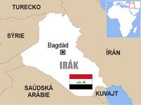 Irák - mapa