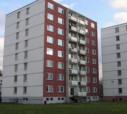 Takto vypadal dům SBD Přerov před rekonstrukcí.