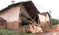 Řeka Luha v Jeseníku zabíjela, ničila domy i majetek lidí