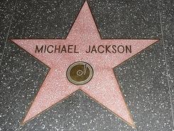 Michael Jackson - Hollywoodský chodník slávy