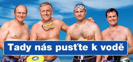"""<b>2. 7. -Topolánek a spol. loví voliče v trenýrkách</b> - ODS se v kampani zaměřila na české voliče, kteří jezdí na dovolenou do Chorvatska. <br>Připravila sérii plakátů, které nechala vylepit kolem silnic vedoucích na Jadran. Zobrazovaly lídry strany, jak se postupně svlékají do trenýrek. Provází je při tom slogan """"Tady nás pusťe k vodě."""" <br><b>Letní billboardy ODS <A href=""""http://aktualne.centrum.cz/domaci/politika/clanek.phtml?id=641454"""">si připomeňte ve fotogalerii zde</A></b>"""