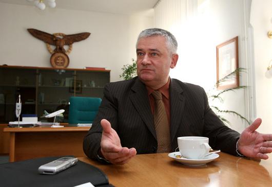 Ján Slota, předseda Slovenské národní strany