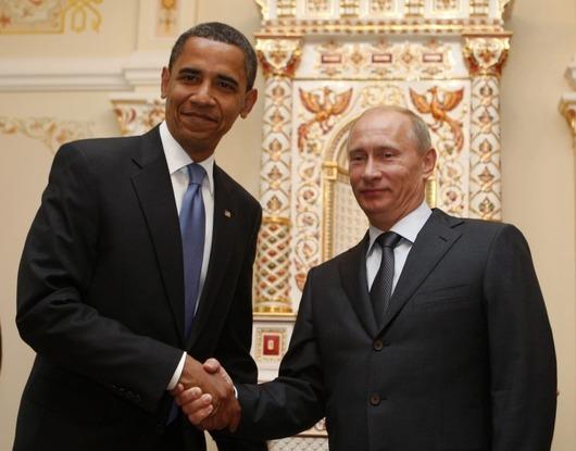 První návštěva prezidenta USA v Kremlu.