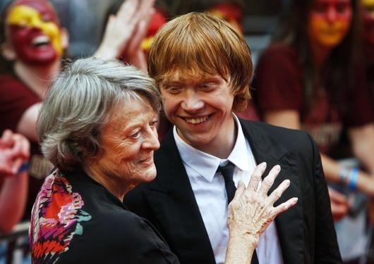 Premiéra filmu Harry Potter a Princ dvojí krve - Rupert Grint