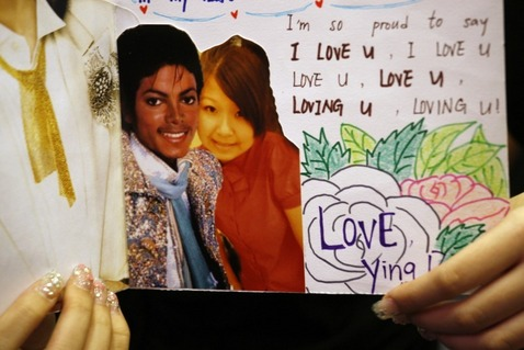 Rozloučení s Michaelem Jacksonem - Hongkong