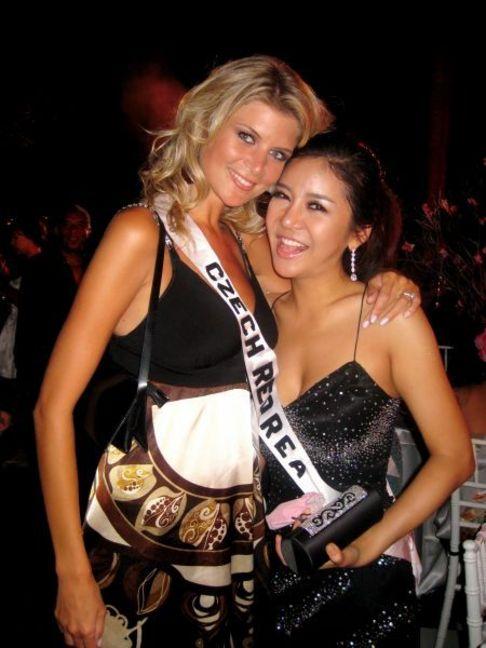 Iveta Lutovská na Miss Universe