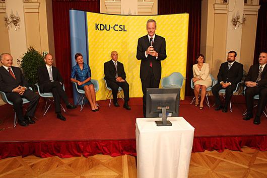 Seznámení s kandidátkou KDU-ČSL.