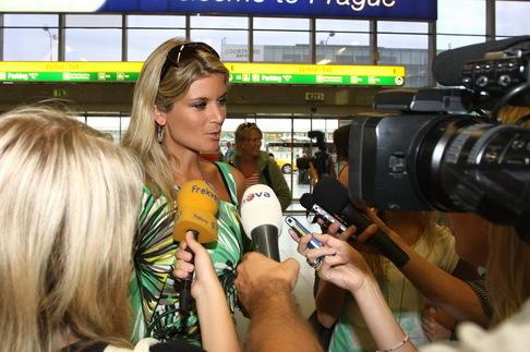 Iveta Lutovská se vrátila z Miss Universe