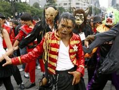 Oslava Jacksonových narozenin v Mexiku