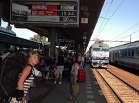 Zpoždění rychlíku Eurocity