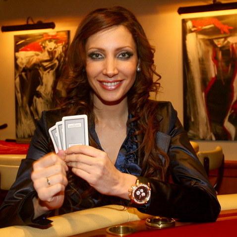 Olga Lounová hrála poker v kasínu